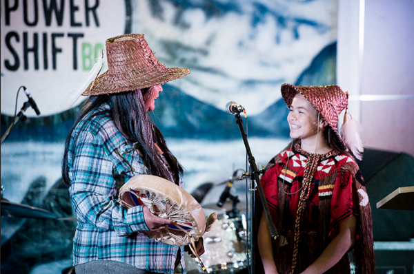 (Left To Right): Indigenous Climate Change Leaders Rose Henry And Takai'ya Blaney At The Power Shift Conference In British Columbia, Canada In 2013. Photo By Caelie Frampton Via Flickr/Creative Commons Licensed.