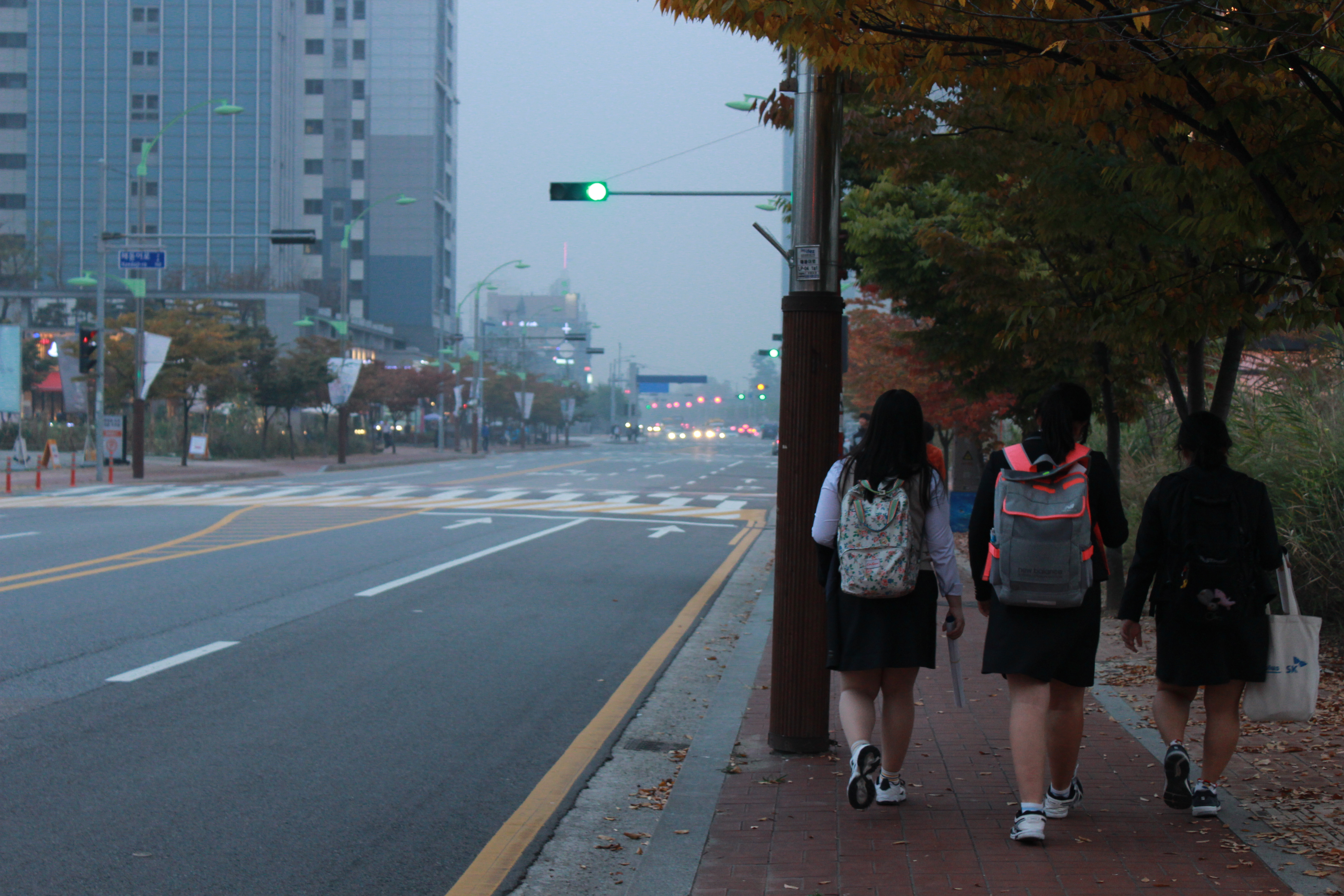 """Korean students battle dreaded """"yellow dust"""" from China"""