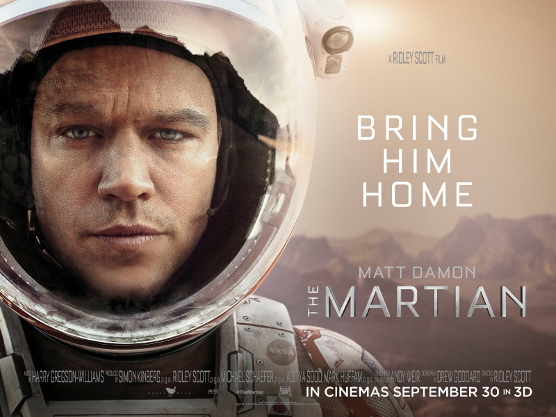 Review: Get out the duct tape — 'The Martian' is one of 2015's best films