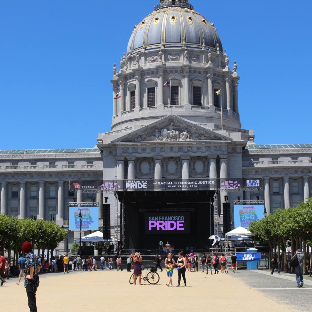San Francisco's City Hall Doubled As The Main Stage For Performances On Saturday, June 25.