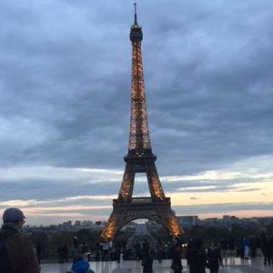 Exhaustion, disappointment, indifference at Eiffel Tower as U.S. voters head to polls