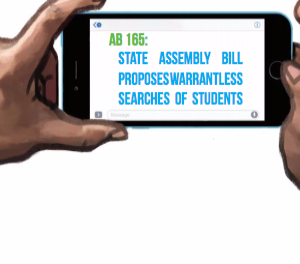 Proposed California law could allow schools to seize student journalists' cell phones