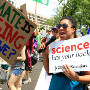 More than geeks — latest climate march on Washington turns out 'people power'