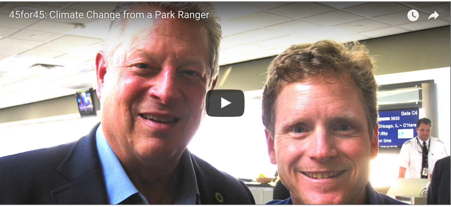 VIDEO: A park ranger who works for the environment — and his boss, Donald J. Trump