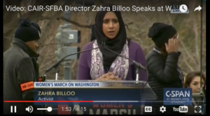 Screenshot of CAIR video.