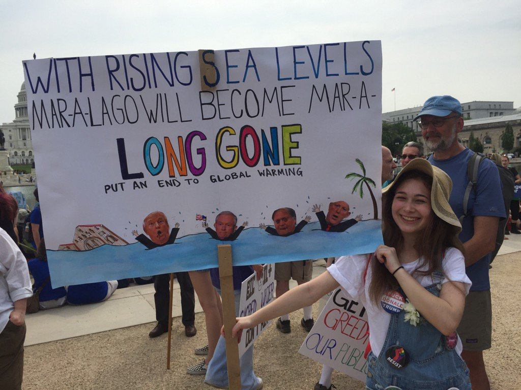 Marchers Gather In Washington To Call For Action On Climate Change