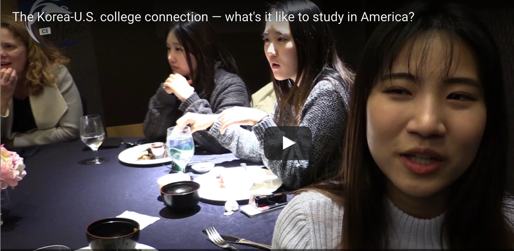 VIDEO: The Korea-U.S. College Connection And VOA's Student Union