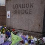 A memorial at London Bridge following the June 3, 2017 attack that killed eight and injured 60. Photo by Jamielee Cutts/GSS correspondent.